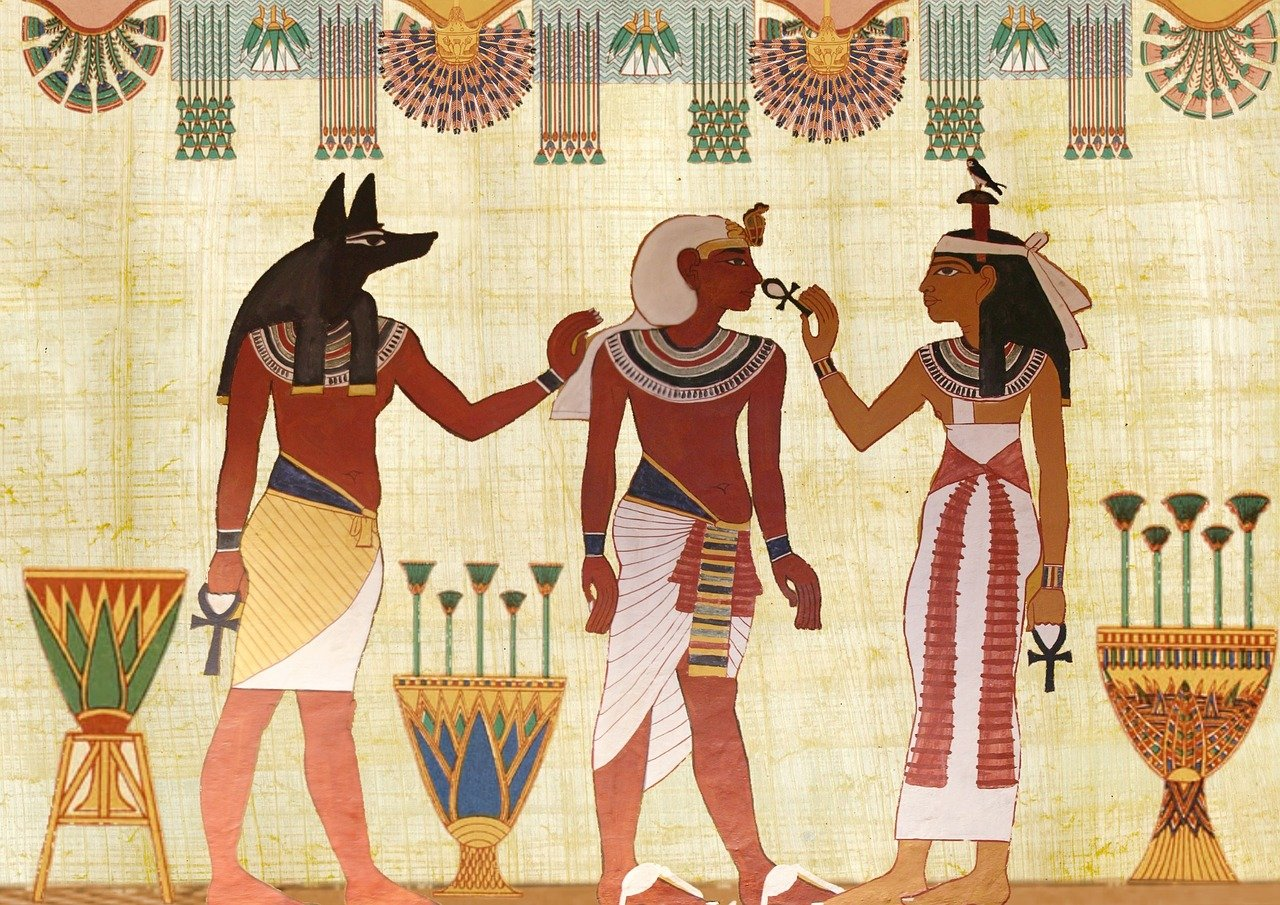 egyptian draw - Egypt know before you go